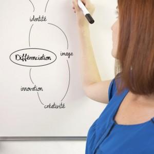 Amandine Lantelme mindmap stratégie de différenciation